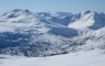 Utsikt mot Eiterdalen fra Tindfjellet