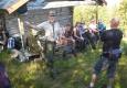 Kløvvegmarsjen 2014 - Nils Røv fortel ved Mausetsetra