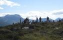 Kløvvegmarsjen 2014 - Utsikten innover dalen frå Veltret