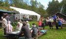 Kløvvegmarsjen 2014 - Mat og underhalding ved Røstasetra