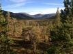 Utsikt innover Vindøldalen fra Knausen. 30. august 2014. Fotograf: Bente Aune