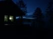 Nattbilde på hytta. 9. august 2014. Fotograf: Elinor Bolme