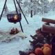 Bålpanne og appelsiner. Desember 2014. Fotograf: Kjersti Haugen