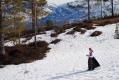 Der kom det jammen ei på ski. 26. april 2014. Fotograf: Tove Mogstad Strand