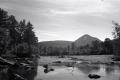 Bildet er tatt i juli 2014 med sort-hvit film og et Zeiss Ikonta 521/2 mellomformatkamera fra 1947. Fotograf: Ottar Øvrevik