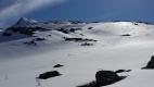 Skispor ned fra Fruhøtta