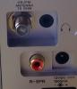 Tilkobling for ekstern antenne og 12V