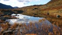 Skrøådalsvatna oktober 2015. Fotograf: Rosanne Ugelstad