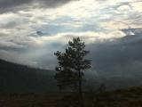 Høstdag i Vindøldalen, fra Bollin mot Fruhøtta. Fotograf: Erik Lunde
