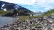 Øverste Skrøådalsvatnet nær turistløypa