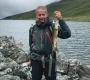 Årets glade vinner av fiskekonkurransen