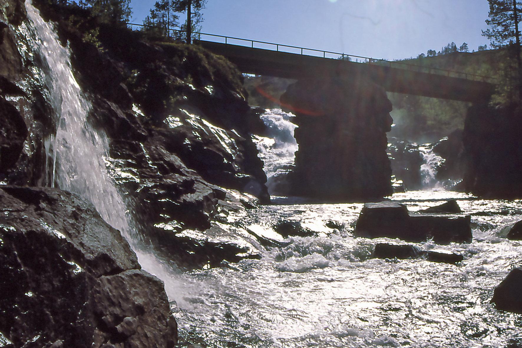 Flomstor elv. Fotograf Bjørn Øien