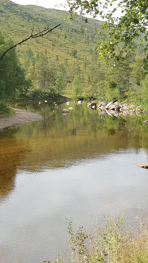 Min aller første tur i dalen, 25. august 2017. Fotograf: Ellen Myhre Jørgensen.