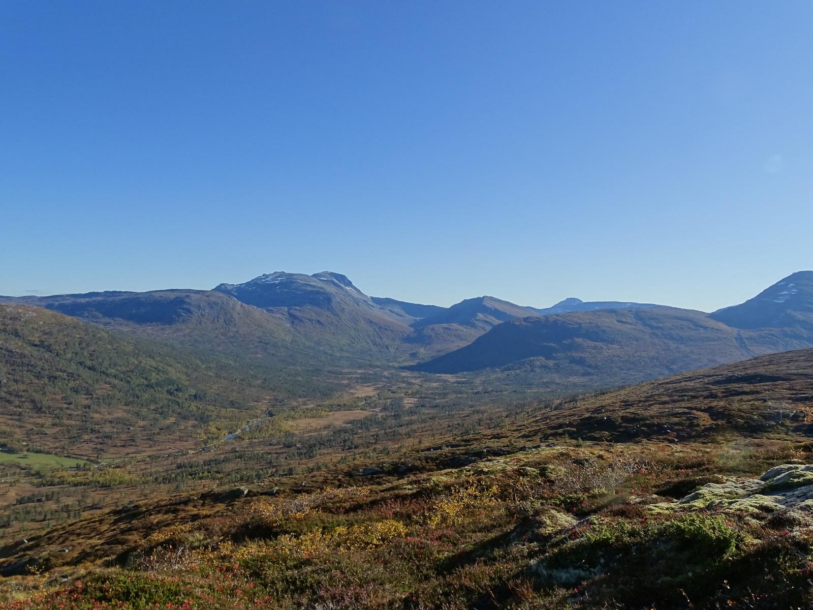 Høstvær på Kufjellet. Fotograf: Magne Nordsteien