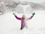 Engler i snøen. Fotograf: Vera Wigum