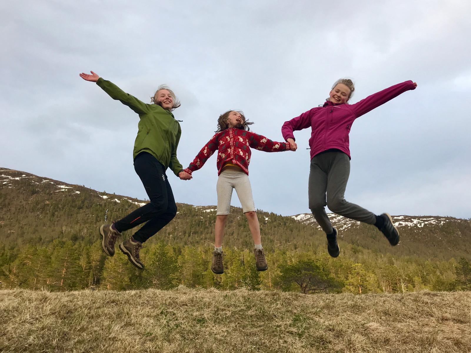 Gøy på taket, 12. mai 2018. Fotograf: Aurora Juel