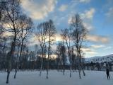 Vinterlys, 23. desember 2018. Fotograf: Vera Wigum