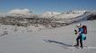 Over høyeste punkt og ned mot Folldalen