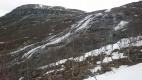 Ned  ved fossefallene fra Skrøådalen