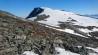 Forbi Litj-Snota (1562 m) må man ofte ta av skiene pga. lite snø.